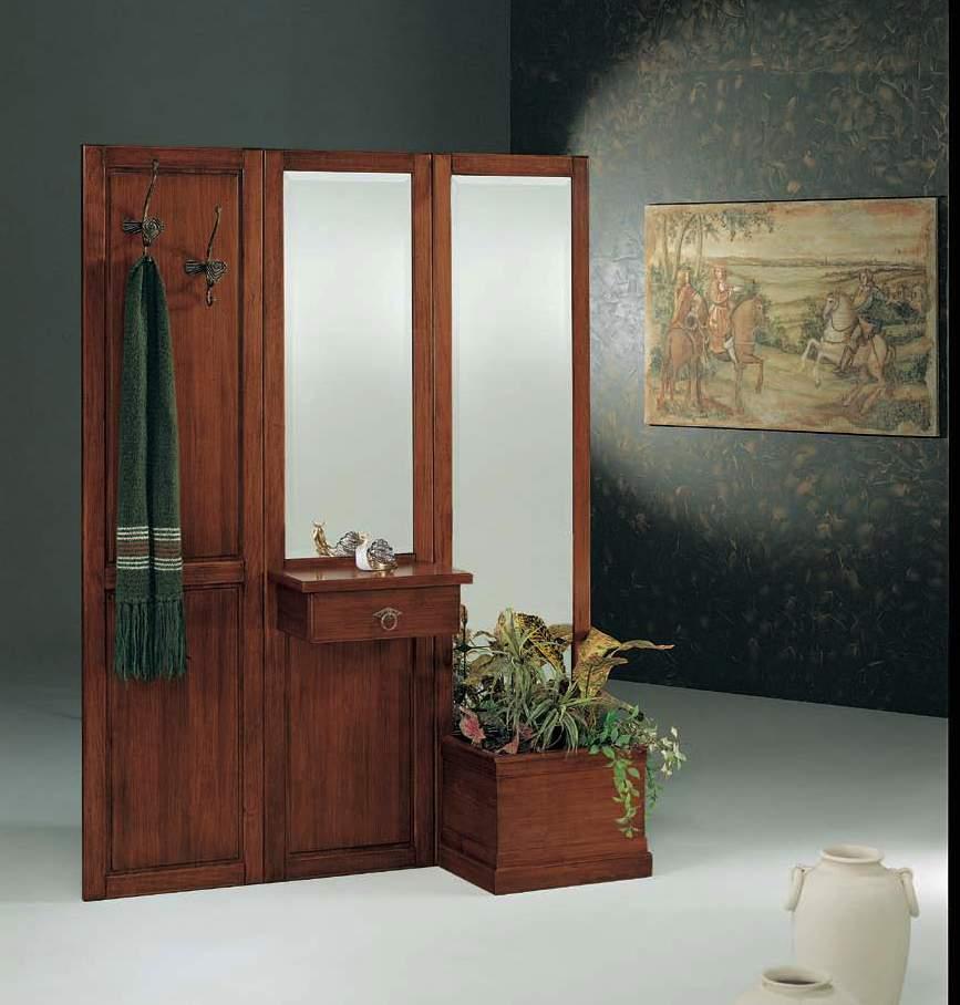 Come rendere accogliente, ordinato e luminoso il tuo ingresso con mobili e complementi d'arredo in stile classico. Parete Ingresso Completa Componibile Df Mobili Classici