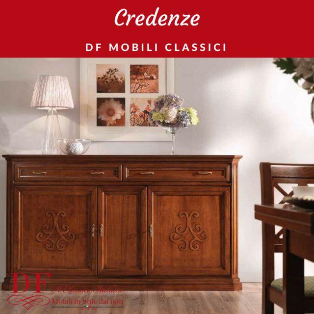 L'arredamento classico darà al tuo soggiorno uno stile e un'eleganza senza tempo. Df Mobili Classici