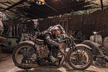This Secret Bike Shop Will Restore Your Vintage Royal Enfield With A Modern Touch