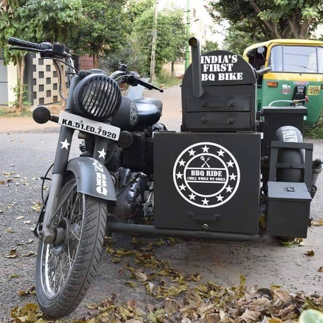 BBQ On Bikes Now In Delhi