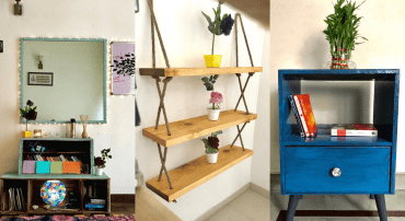 """Quirky, Customized Furniture """"Home-Made"""" For Your Humble Abode"""
