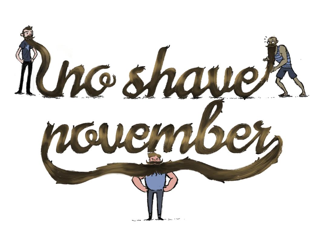 no shave november-grooming