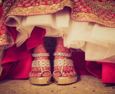 Chandni Chowk Bridal Lehenga DforDelhi