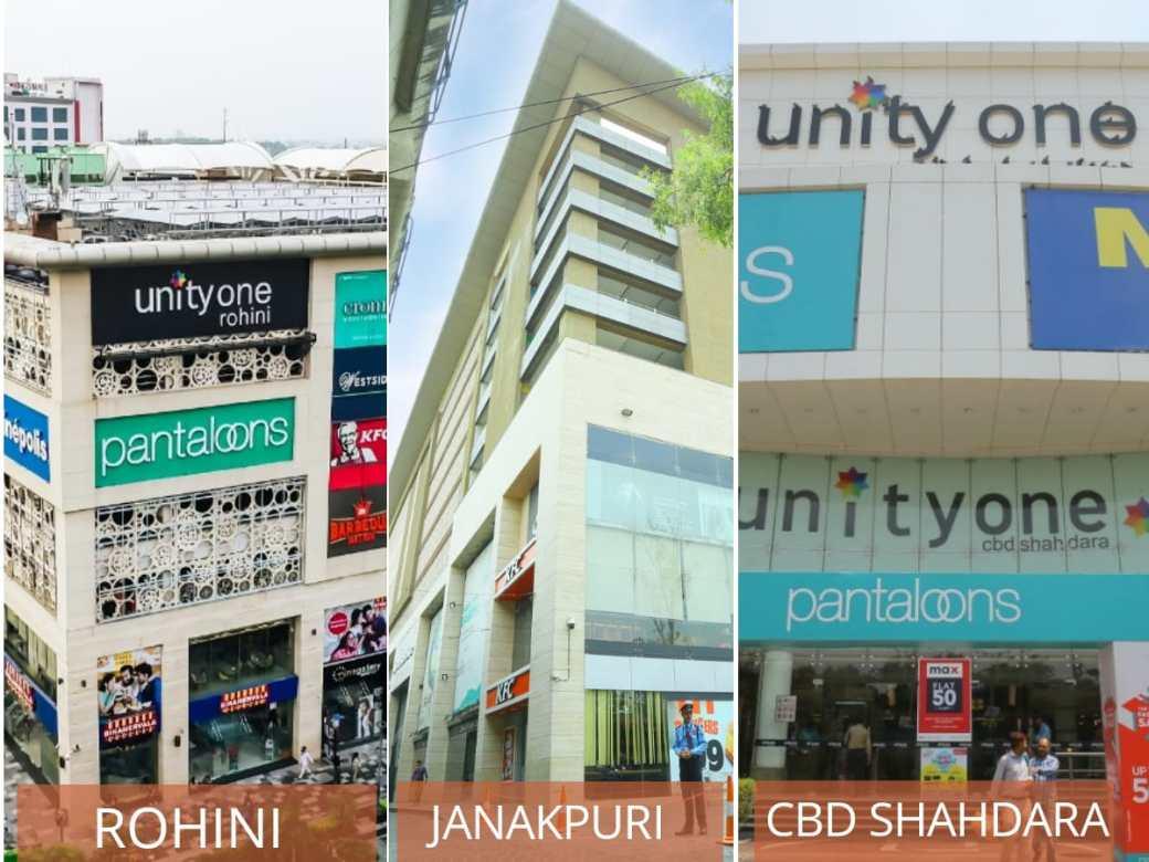Unity One 4th Anniversary Sale DforDelhi