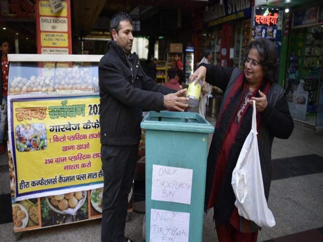Garbage Cafe Dwarka DforDelhi