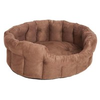 P&L Softee Oval High Sided Memory Foam Dog Bed   UK
