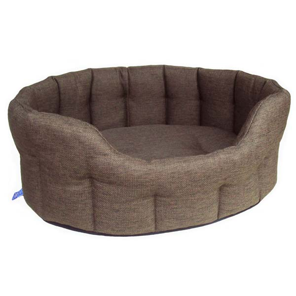 P Amp L Oval Softee Heavy Duty Dog Bed High Sided Uk