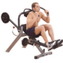 man using AB Machine