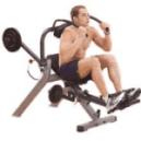 man using AB Machine