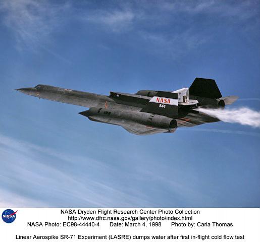 SR71LASRE EC98444404 Linear Aerospike SR71
