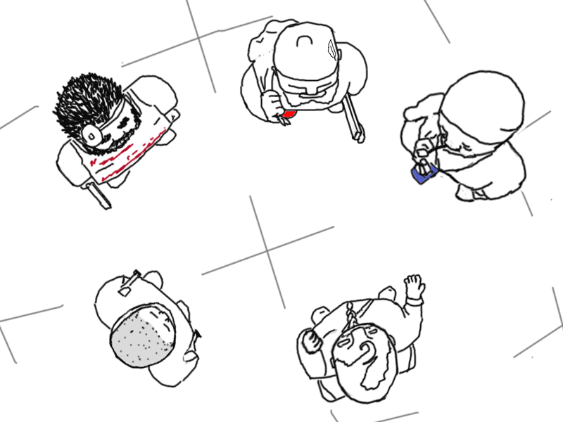 Adventures of Likot Udendeb(SoapEater), illustrated