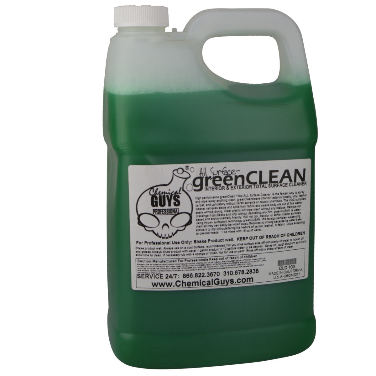Chemical Guys Green Clean Allroundreiniger 3 785 Liter
