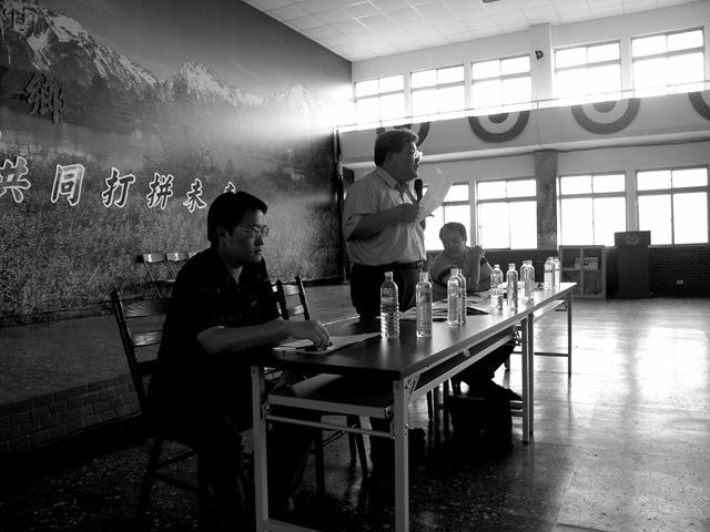 桃源鄉安全評估說明會第3場─鳳雄營區1012   莫拉克88news.org