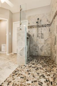 Gorgeous, Walk-in Shower Bathroom Remodel | DFW Improved ...