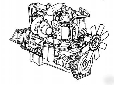 17 cummins diesel engine manuals: cd, 3610 pages