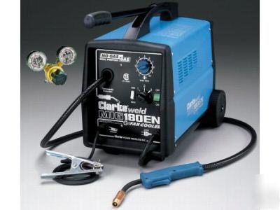 Clarke 180EN7 mig welder 220V 180 amp no gas or gas
