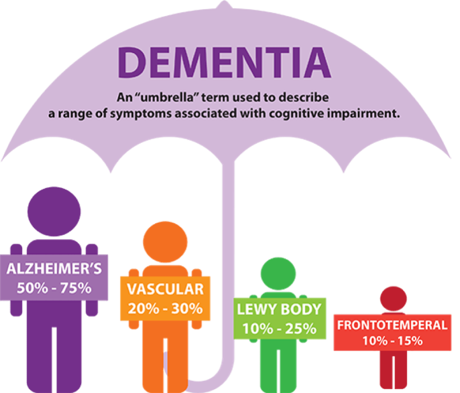 types of dementia dementia