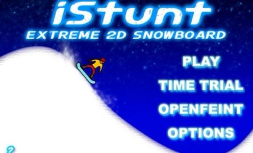 iStunt – Extreme 2D Snowboard Kostenlos im AppStore