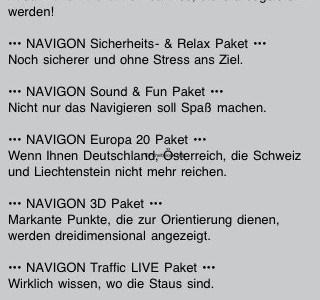 Navigon Select im Appstore angekommen