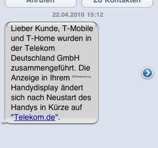 T-Mobile nun Telekom.de