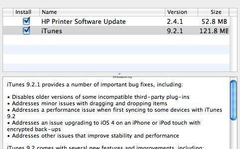 iTunes 9.2.1 und iBooks 1.1.1 veröffentlicht