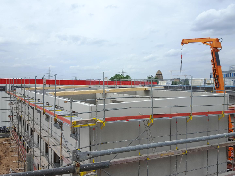 MFH-Siedlung Bauphase