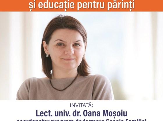 Conferința PARENTING, ANTIPARENTING ȘI EDUCAȚIE PENTRU PĂRINȚI