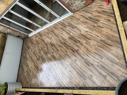 Patio Renovation and Building Project