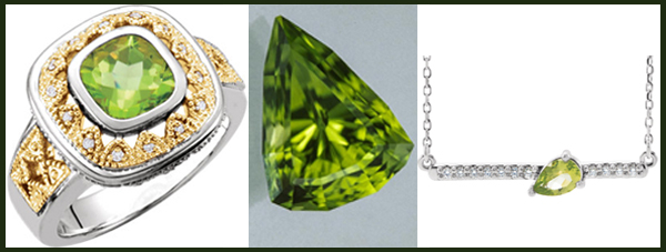 As with peridot, care should be taken when wearing it, especially as a ring. August Birthstone Peridot