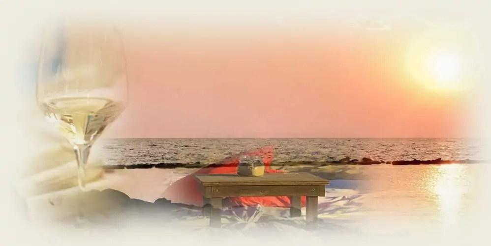 """""""Sogno di una notte d'inizio estate"""" / Aperitivo, cena e degustazione in riva al mare"""