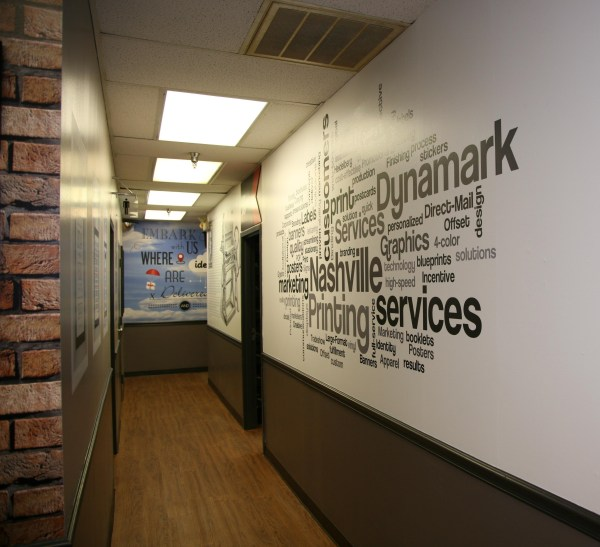 Large Format Graphics Dynamark Group Nashville