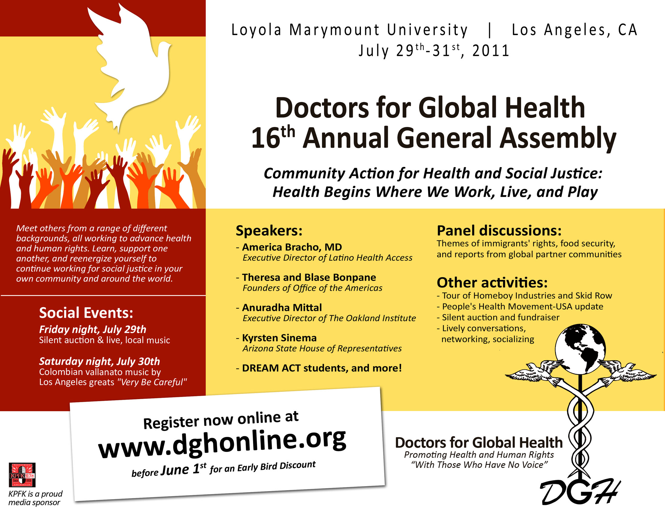 16th Annual Doctors For Global Health General Assembly