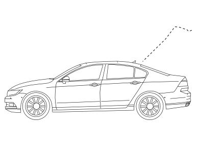 Anhängerkupplung starr Renault Laguna II Stufenheck 2001