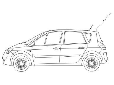 Opel Meriva A 2003-2010 Anhängerkupplung abnehmbar + 7-pol