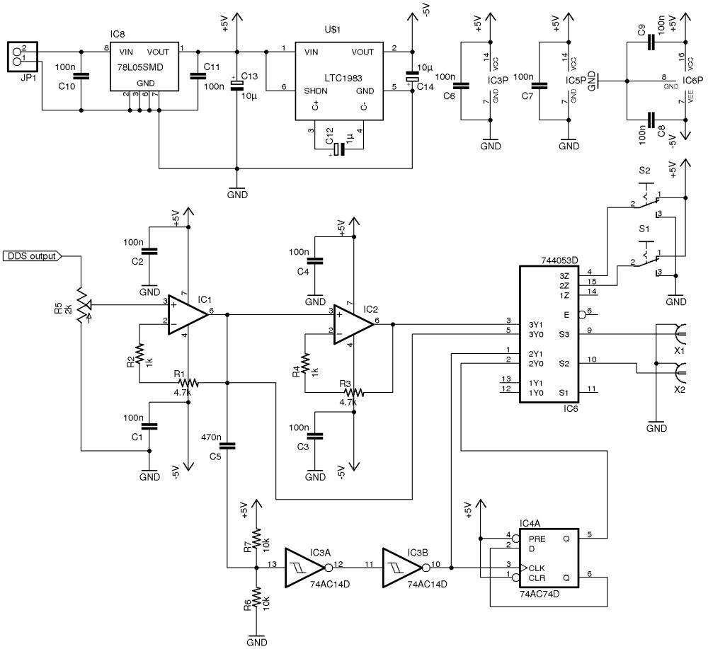 medium resolution of voltage dc generator wiring diagram schematic wiring and schematic function generator circuit xr2206 function generator circuit