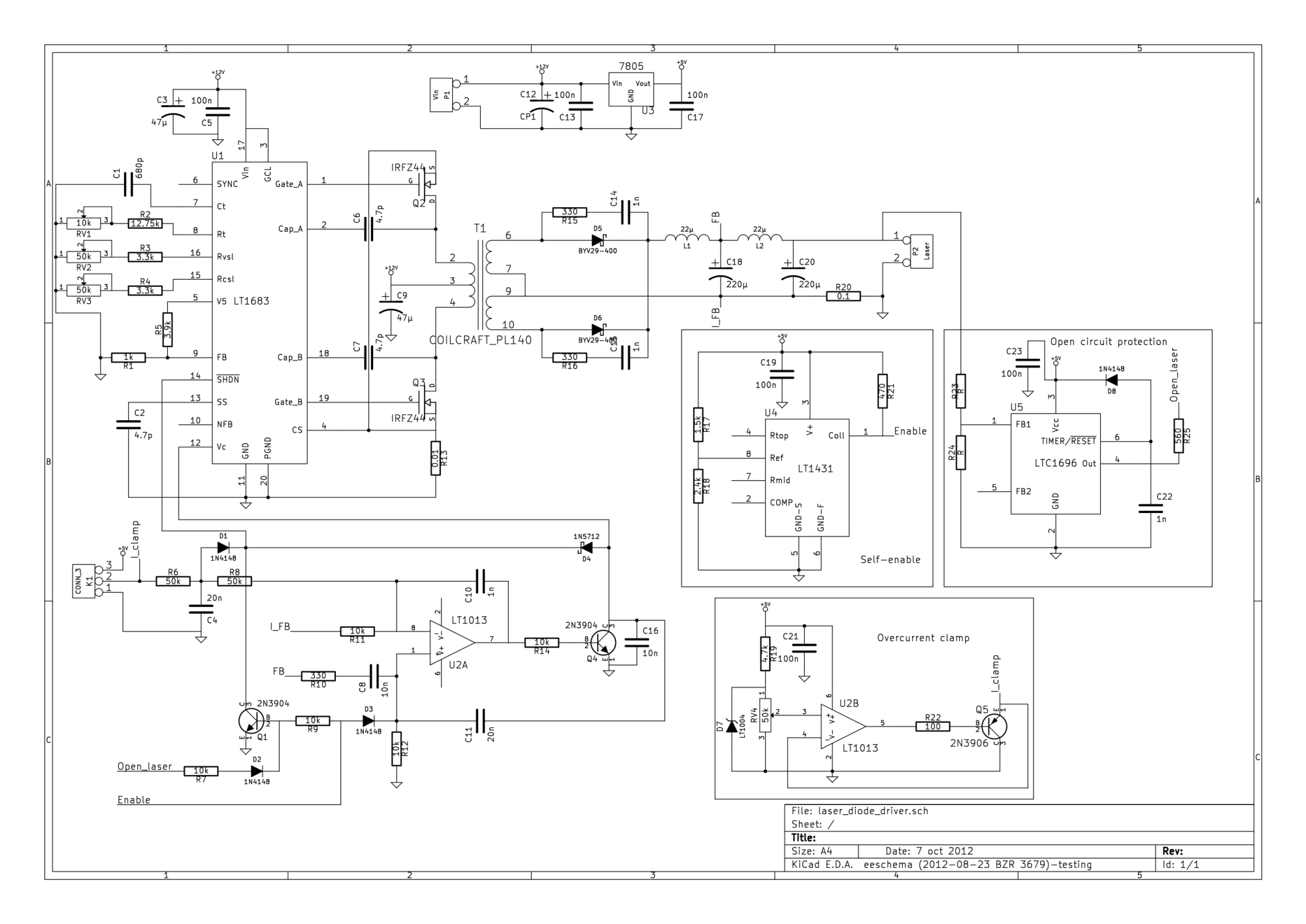 hight resolution of lt1683 laser diode driver schematic