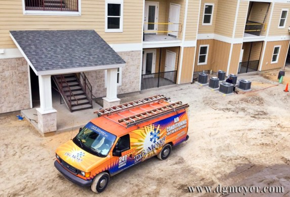 DGM Van and New Units at Eagle Landing Apartment C.omplex
