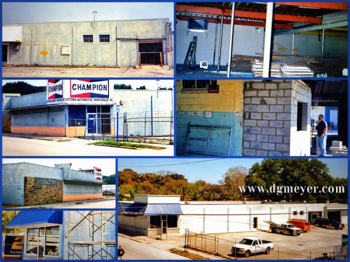D.G. Meyer Inc. 1998-99 Building Purchase and Renovation