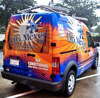 D.G. Meyer Inc. Service Van