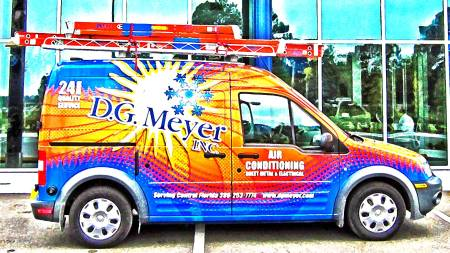D.G. Meyer Transit Van
