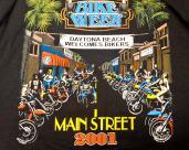 Bike Week Tee 2001