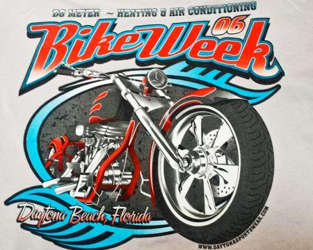 Bike Week Tee 2006