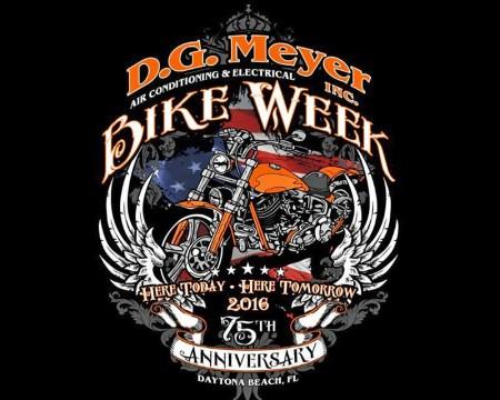DGM 2016 Bike Week Tee Shirt