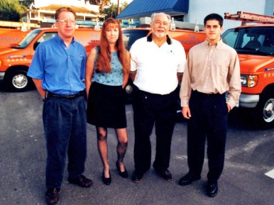 Joe, Linda, Donald and Christopher