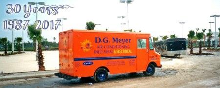 30 Years D.G. Meyer Inc. 1987-2017