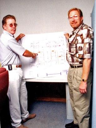 Joe Berger and Leon Michaux, 1990s