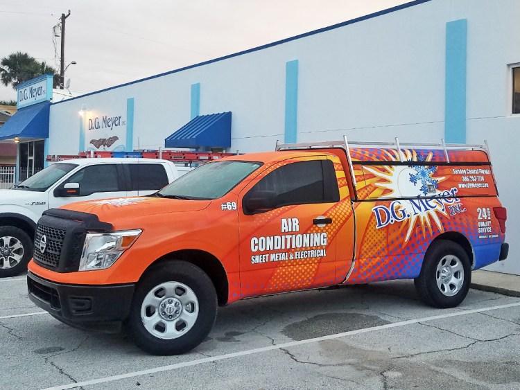 New Nissan Truck at D.G. Meyer Inc.