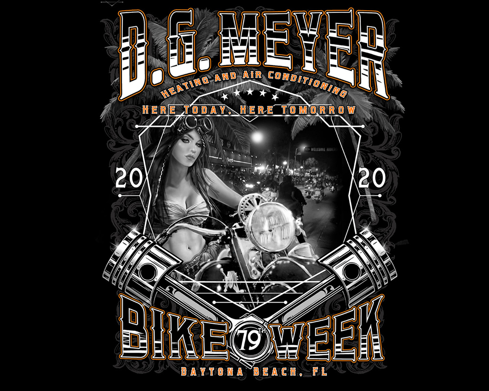 DGM Bike Week Tee 2020