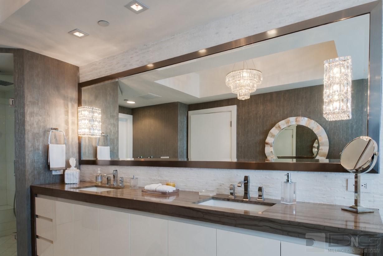 Bathroom Storage Ideas  DNG Millwork Miami