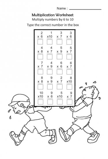 30 Math Worksheets